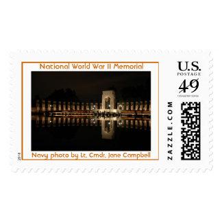 Monumento nacional de la Segunda Guerra Mundial, Envio