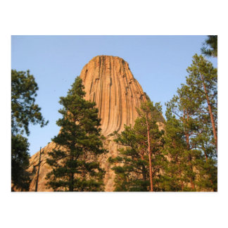 Monumento nacional de la torre de los diablos, postal