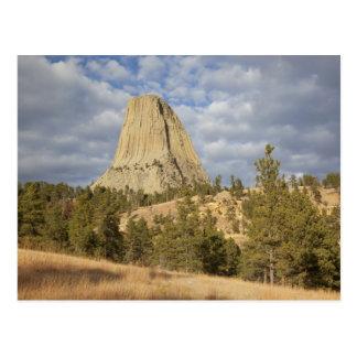 Monumento nacional de la torre de los diablos postal