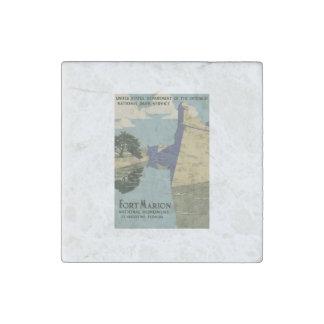 Monumento nacional de Marion del fuerte Imán De Piedra