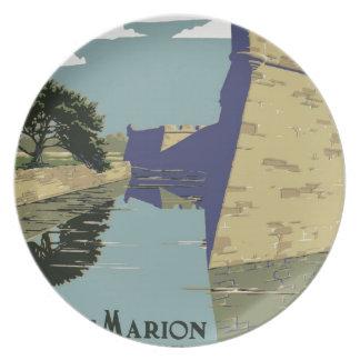 Monumento nacional de Marion del fuerte, St Platos Para Fiestas