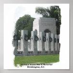 Monumento nacional de WWII Posters