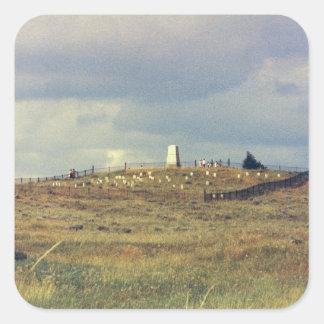 Monumento nacional del campo de batalla del Little Colcomanias Cuadradas