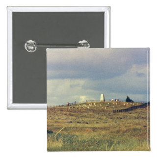 Monumento nacional del campo de batalla del Little Pin Cuadrada 5 Cm