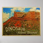 Monumento nacional del dinosaurio impresiones