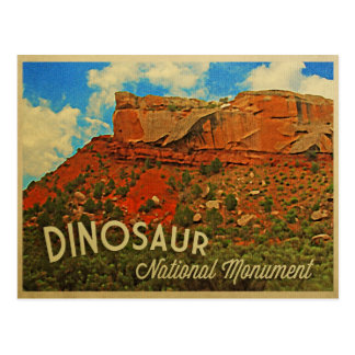 Monumento nacional del dinosaurio postal