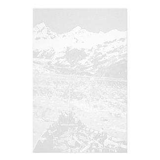 Monumento nacional del Glacier Bay de los E.E.U.U. Personalized Stationery