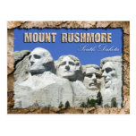 Monumento nacional del monte Rushmore, Dakota del  Tarjeta Postal