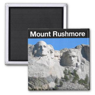 Monumento nacional del monte Rushmore Imán Cuadrado
