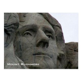 Monumento nacional del monte Rushmore Tarjeta Postal