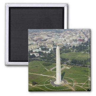Monumento nacional imán cuadrado