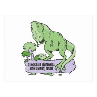 Monumento nacional Utah del dinosaurio Postal