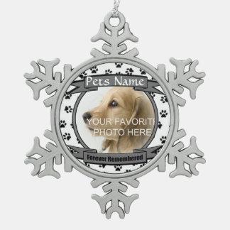 Monumento para siempre recordado del perro o del g adorno