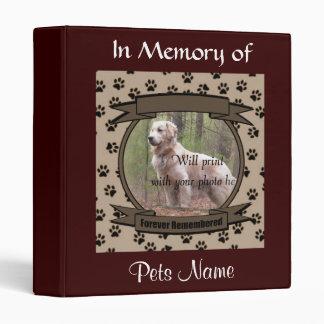 Monumento para siempre recordado del perro o del g