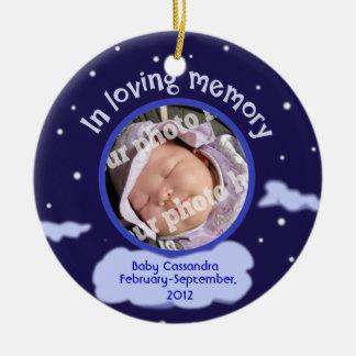 Monumento personalizado foto de encargo del bebé p ornato