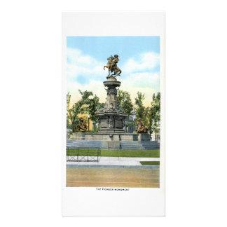 Monumento pionero, Denver, Colorado Tarjetas Personales