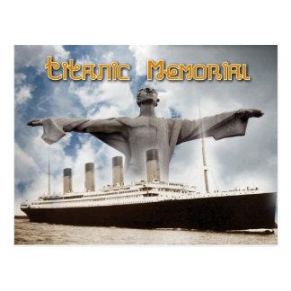 Monumento titánico en Washington DC Tarjetas Postales