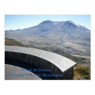 Monumento volcánico del Monte Saint Helens Postales