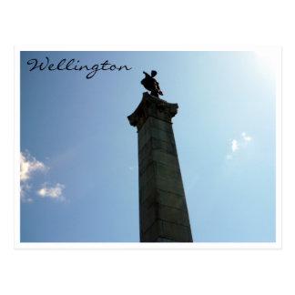 monumento Wellington del seddon Tarjetas Postales