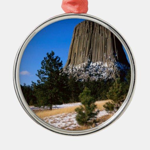 Monumento Wyoming de la torre de los diablos del Ornamento Para Reyes Magos