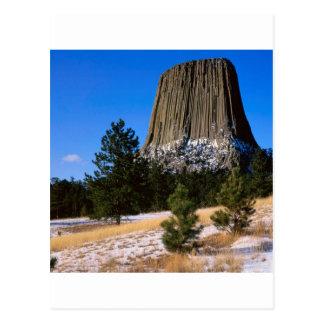 Monumento Wyoming de la torre de los diablos del Postal