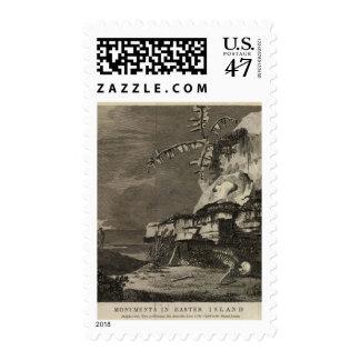 Monumentos, isla de pascua sellos