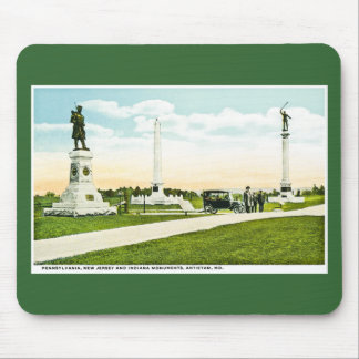 Monuments at Antietam, Maryland Mouse Pad