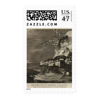 Monuments, Easter Island Postage