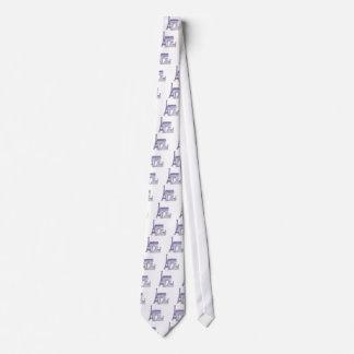 Monuments of Paris Tie