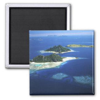 Monuriki, Monu and Yanuya Islands, Mamanuca 2 Inch Square Magnet