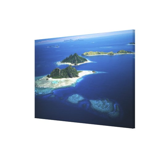 Monuriki, Monu and Yanuya Islands, Mamanuca Canvas Print