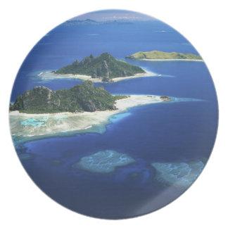 Monuriki, Monu and Yanuya Islands, Mamanuca Dinner Plate
