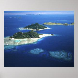 Monuriki, Monu and Yanuya Islands, Mamanuca Poster