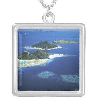 Monuriki, Monu and Yanuya Islands, Mamanuca Silver Plated Necklace