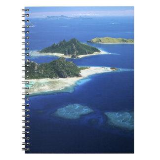 Monuriki, Monu and Yanuya Islands, Mamanuca Spiral Notebook