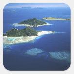 Monuriki, Monu and Yanuya Islands, Mamanuca Square Sticker