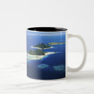 Monuriki, Monu and Yanuya Islands, Mamanuca Two-Tone Coffee Mug