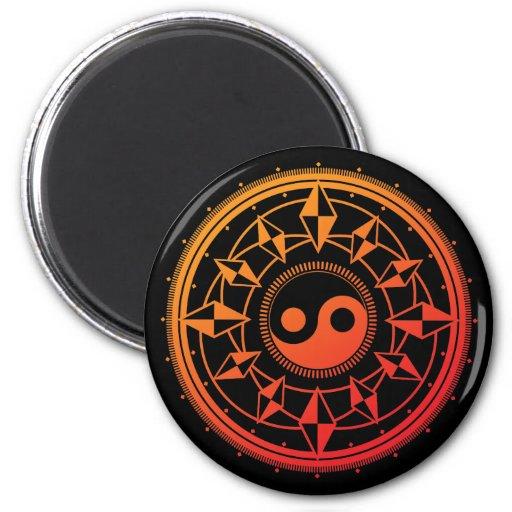 Monyou2 2 Inch Round Magnet