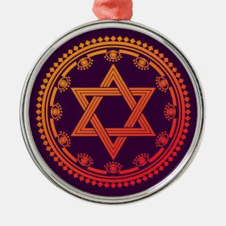 Monyou 8 metal ornament