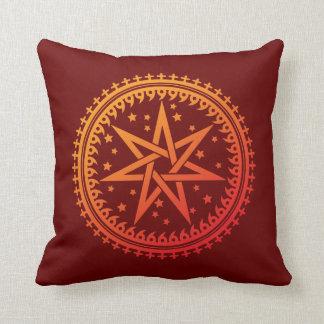 Monyou 9 throw pillow