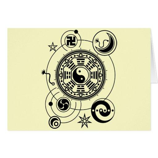 Monyou all1 greeting card