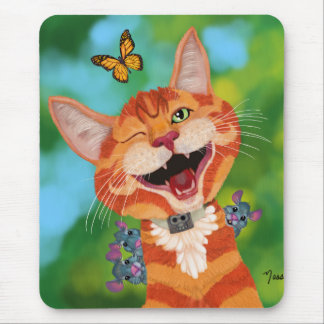 Monzo and Friends Mouse Pad