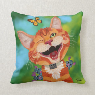 Monzo and Friends Pillow