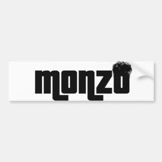 Monzo Bumper Sticker