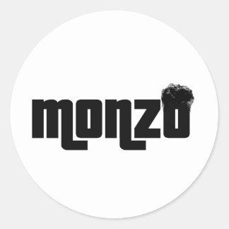 Monzo Classic Round Sticker
