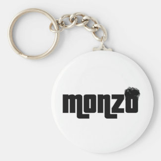 Monzo Basic Round Button Keychain
