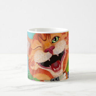 Monzo the cat coffee mug