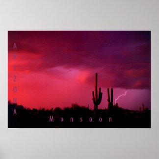 Monzón de Arizona Poster
