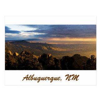 Monzón sobre Albuquerque Tarjeta Postal