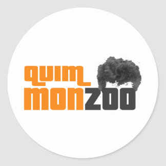 Monzoo Classic Round Sticker